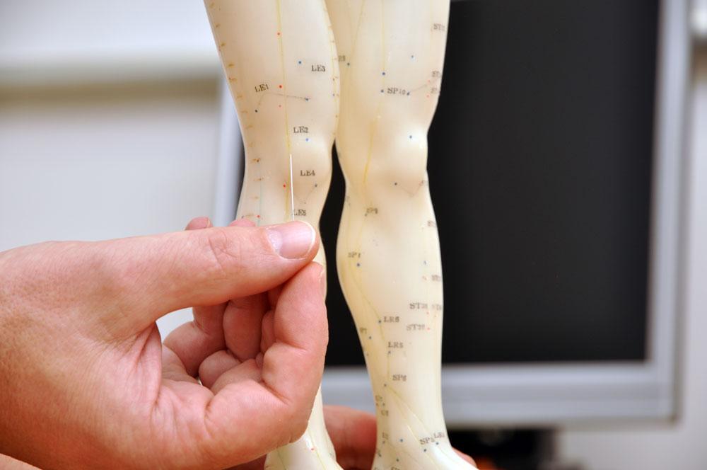 Schulter, Hüfte und Knie